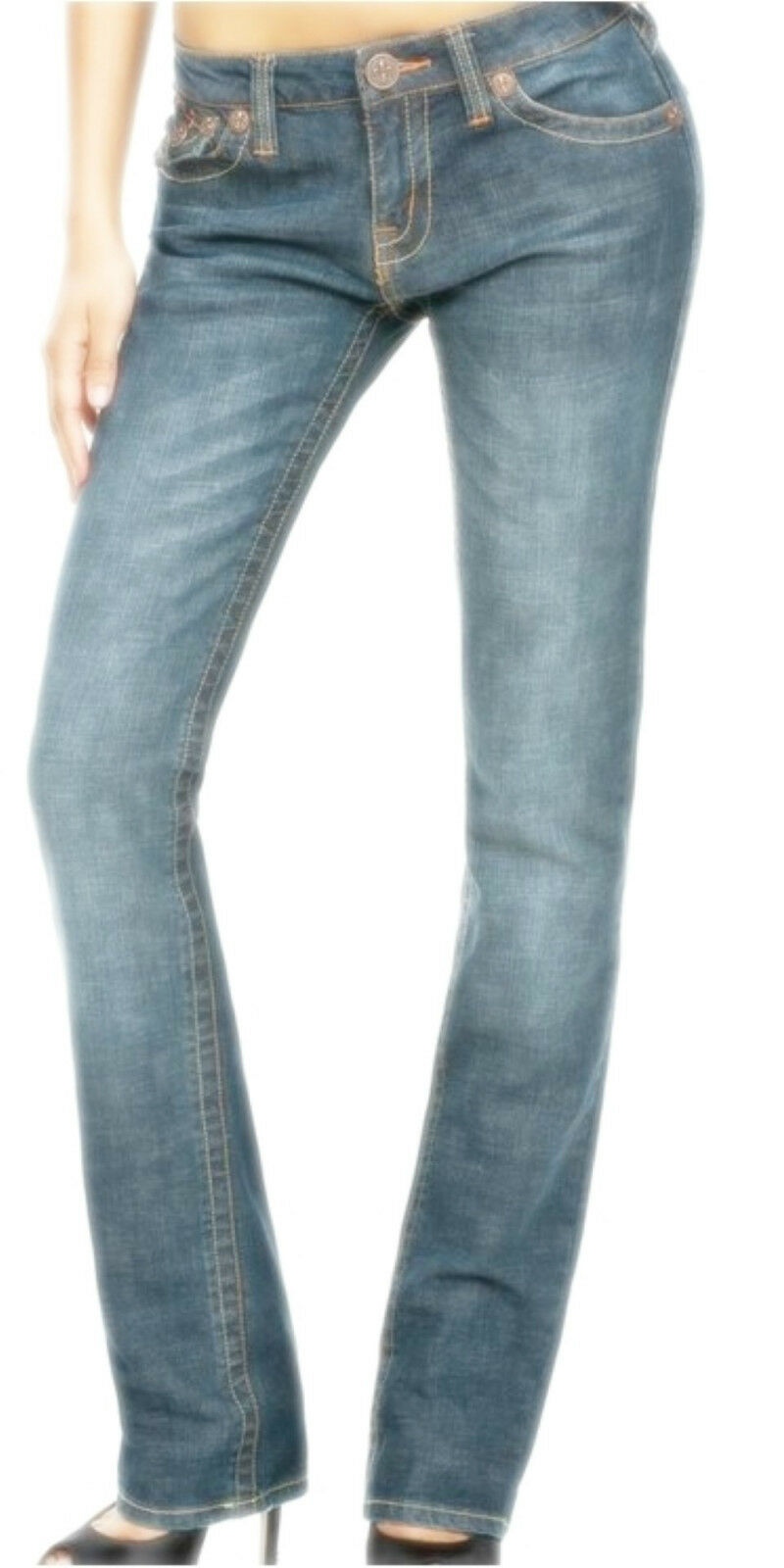 LAGUNA BEACH Phantom Pocket Damen damen Jeans CRYSTAL COVE COVE COVE W27 PVP  NEU 27a865