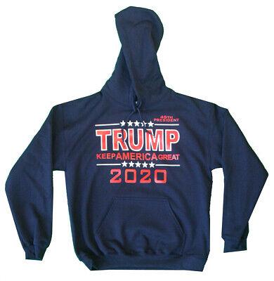 Keep America Great Donald Trump Sweatshirt Stars and Stripes 2020 Sweater