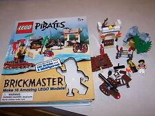 Lego Brickmaster Pirates Hardcover Book DK Press 100% Complete