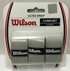 2 X Wilson Ultra Wrap Gray Comfort Over-grip Tennis Racket Sporting WRZ471718