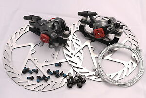 EXPRESS-DELIVERY-TO-AUS-AVID-BB7-DISC-BRAKE-KIT-160MM-G2-ROTOR-2-JAGWIRE-CABLES