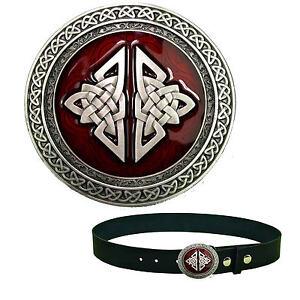 Moyen-Age-plaque-gothique-celtique-Shield-Boucle-Celtique-boucle-de-ceinture-174