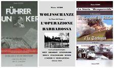 Pietro GUIDO: Trilogia - Berghof+Hitlerbunker+WOLFSSCHANZE E L'OPERAZIONE BARBAR