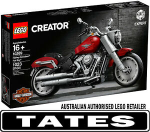 LEGO-10269-Harley-Davidson-Fat-Boy-CREATOR-from-Tates-Toyworld
