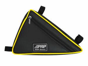 PRP-Triangle-Storage-Bag-Vinyl-Black-Yellow-YXZ-1000R-UTV-Universal-Fit-UTV
