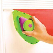 7pc Point & Paint Pad Pro Set Tray Roller Painting Corner Edge Decorating Sponge