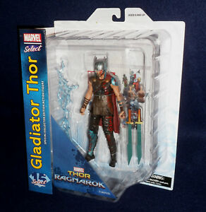 "GLADIATOR THOR Thor Ragnarok Marvel Select 7/"" Scale Figure Diamond"
