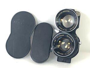 Quase-perfeito-Mamiya-Sekor-80mm-f-2-8-Twin-Lens-Reflex-Lente-para-C33-C22-C330-C220-Do-Japao