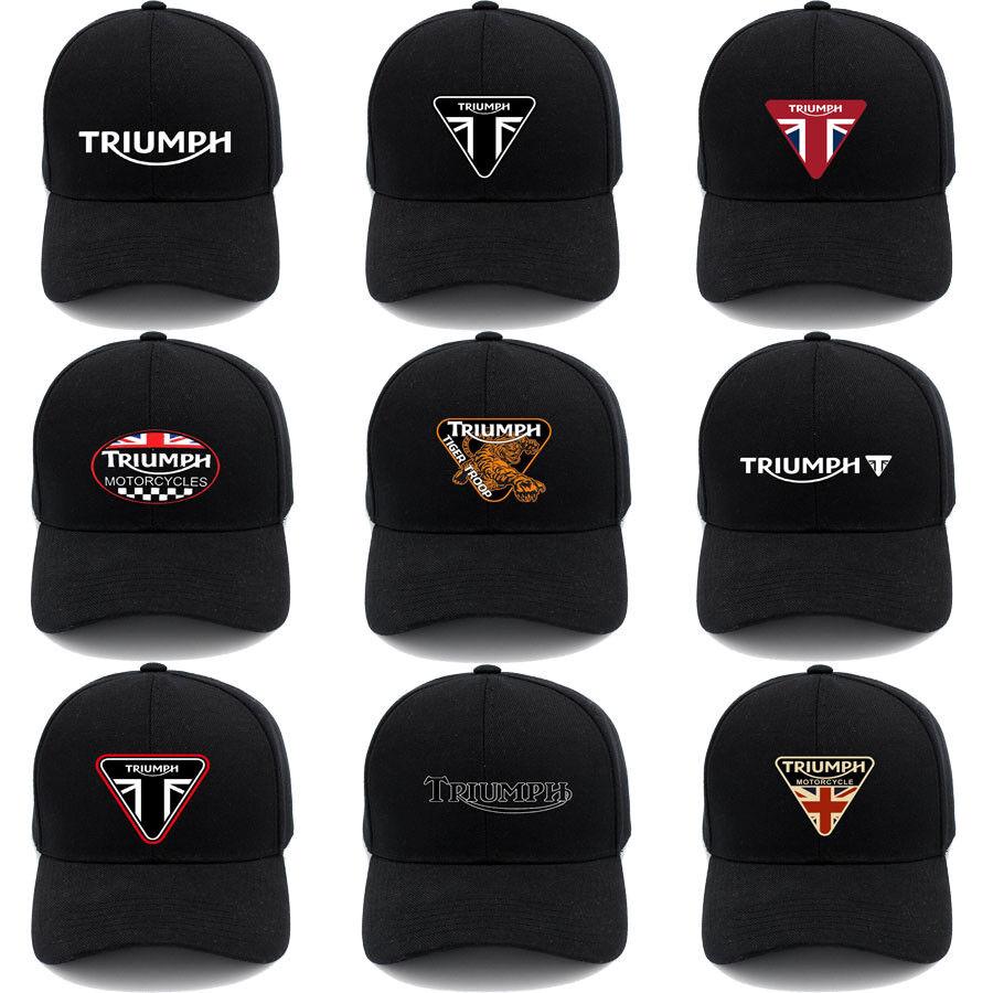 All Cotton Dad Cap Triumph-Motorcycles-Logo Snapback Vintage Hat