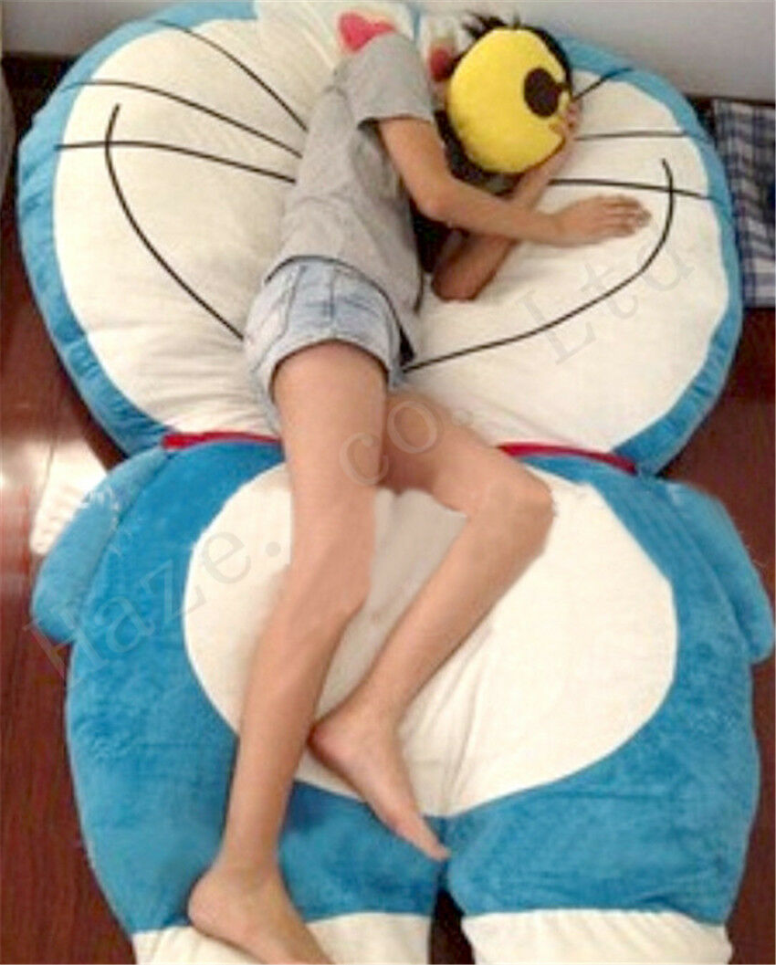 Doraemon Super Large Short Plush PP Cotton Stuffed Sofa Mattress Tatami Xmas
