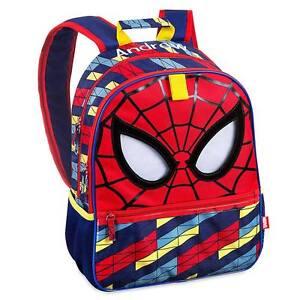 ecedad732902 Disney Store Deluxe Marvel Spiderman Super Hero Boys Kids Backpack ...