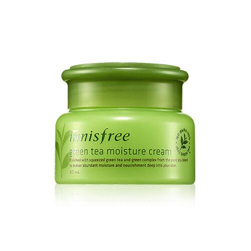 [Innisfree] GREEN TEA MOISTURE CREAM 50ml