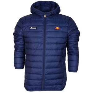 Ellesse-SHS01115-Lombardy-Padded-Zip-Hooded-Navy-Jacket