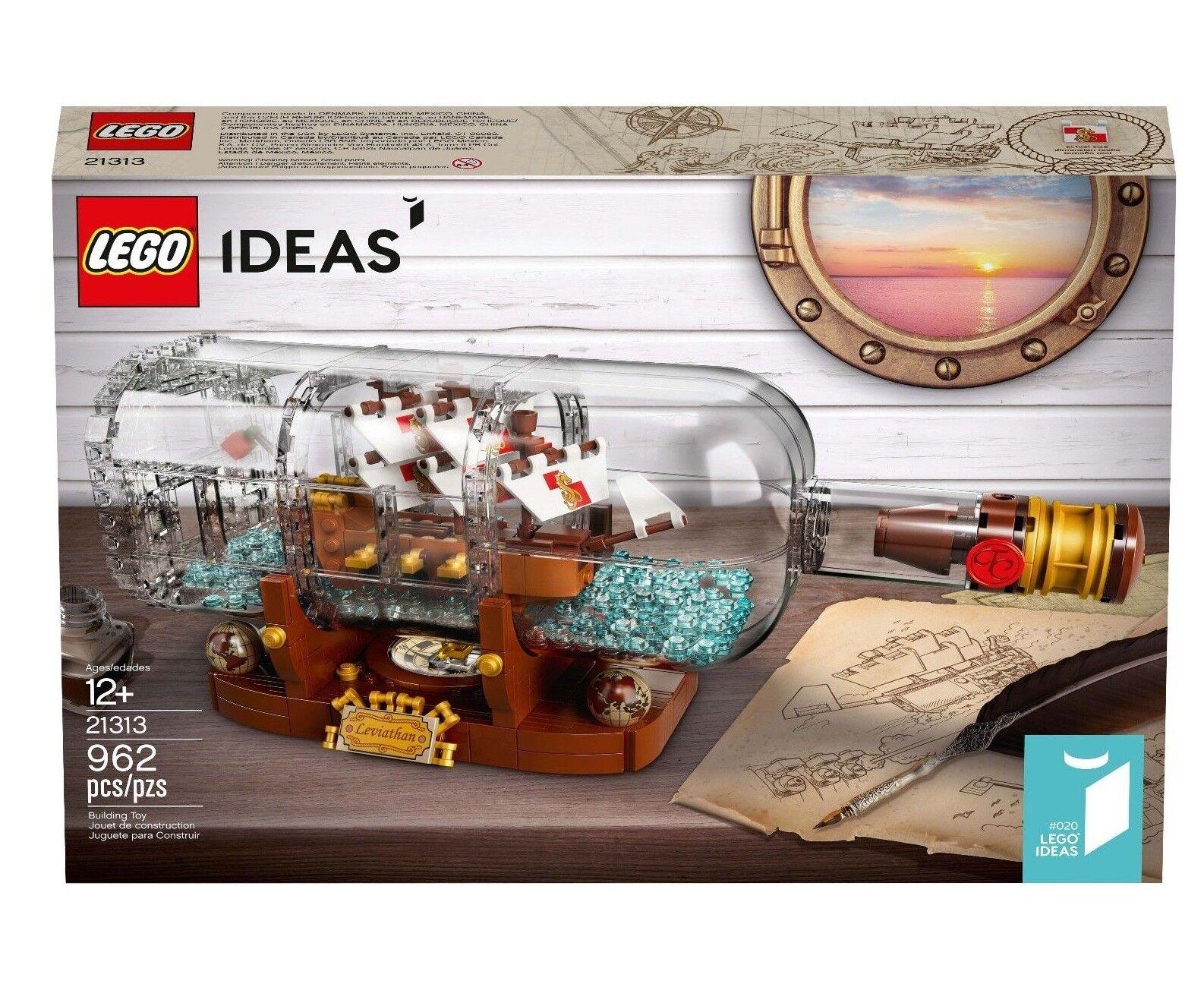 Lego Nave en un Botellas Conjunto 21313 Ideas  020 Nuevo Sellado