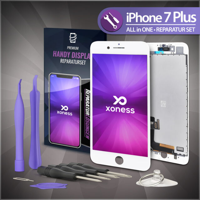 Ersatz LCD iPhone 7 PLUS Display Weiß Retina Bildschirm Scheibe TouchScreen Fix