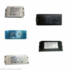 LED-Halogen-Trafo-Treiber-12V-Landlite-Driver-Netzteil-Blau-Schwarz-Weiss