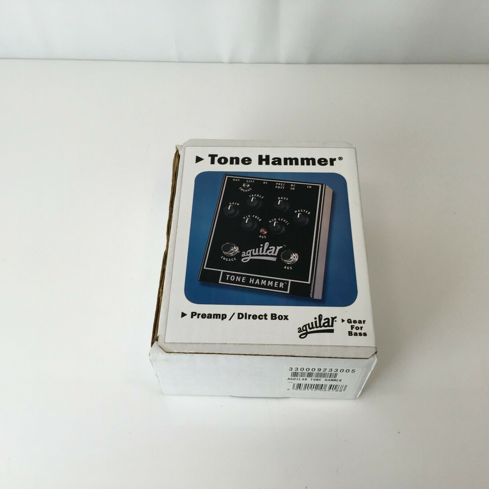 Aguilar Tone Hammer Prelamp Dlrect Box In Excellent Condition
