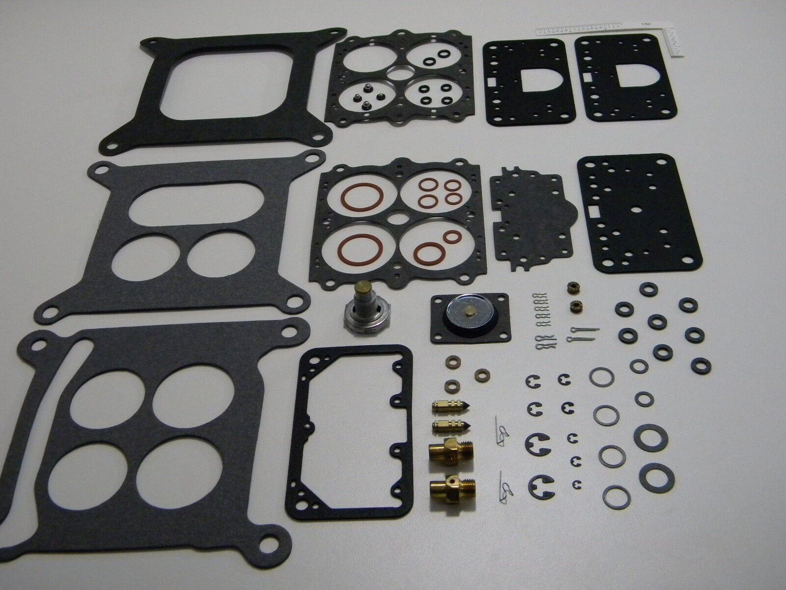 1967 Corvette Holley 4 BBL Rebuild Kit 3806 3807 3810 3811 3814  327 427 Engine