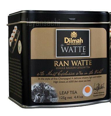 Dilmah, Premium Tea, 25 50  100 Tea Bags Watte Series 125g Earl grey Ceylon Tea