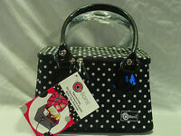 Creative Options 700-361 Black With White Polka Dots Tapered Tote Case