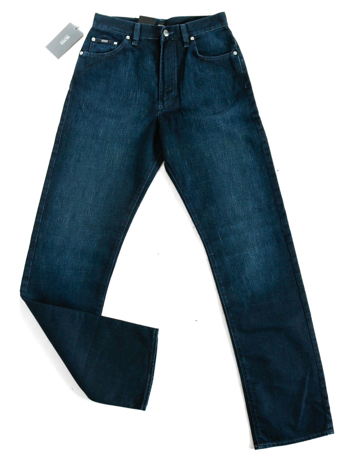 Hugo BOSS   Uomo Jeans-Pantaloni   Montana regular Comfort Fit   blu   w28-w30