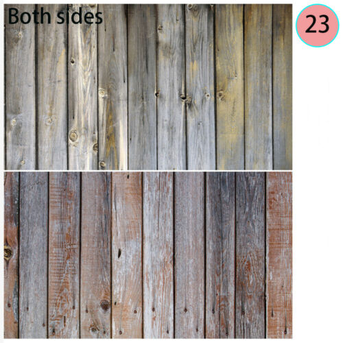 Paper Wood Board Graphic Background Photo Props  Double-sided Wood Grain