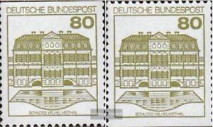 BRD-BR-Deutschland-1140C-I-1140D-I-kompl-Ausgabe-gestempelt-1982-Burgen-und