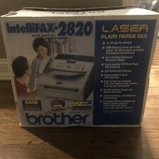 Brother Intellifax 2820 Laser Fax Fax 2820