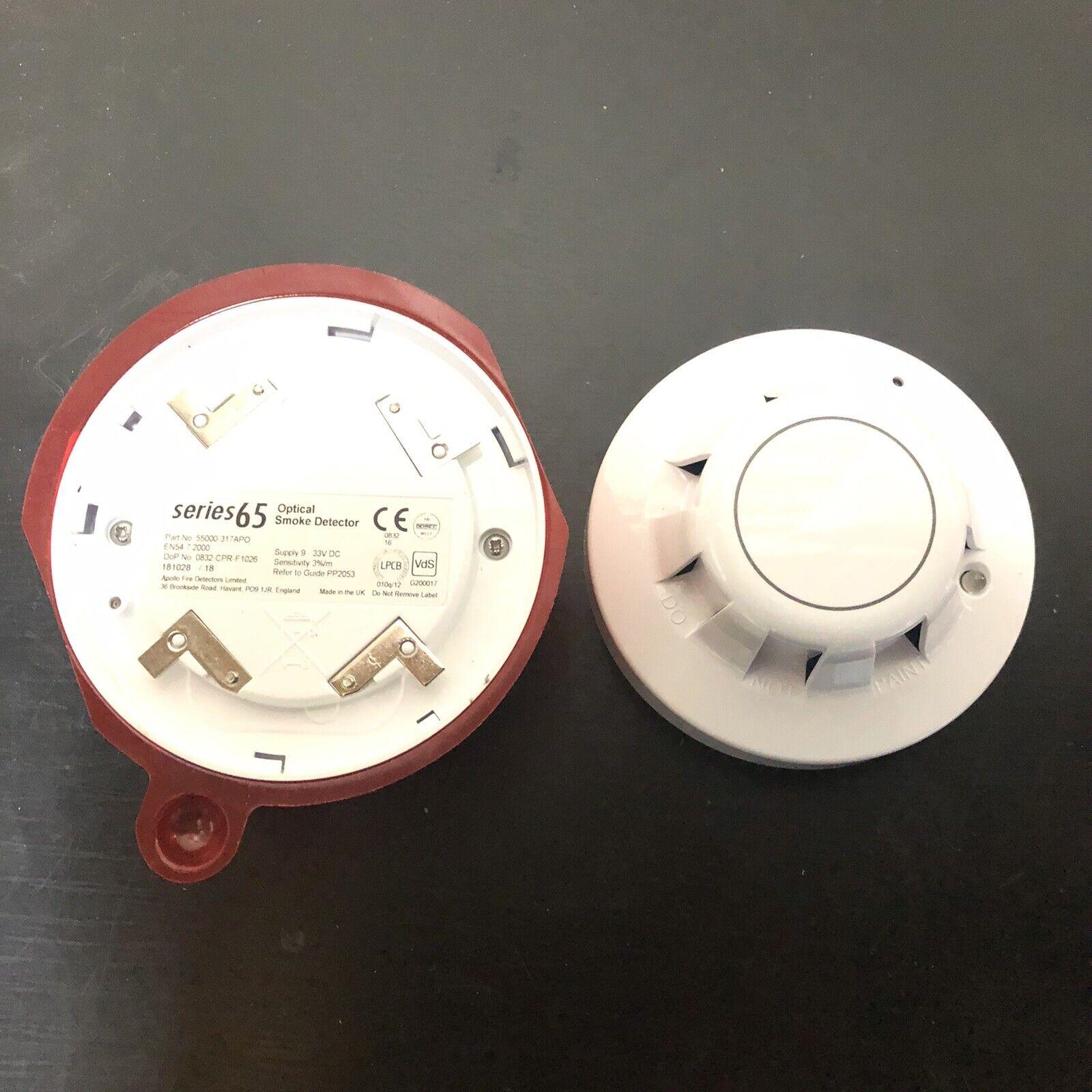 Apollo Series65 Optical Smoke Detector 55000 317 Apo For Sale