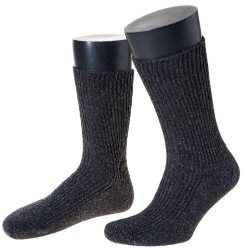 Made in Germany 100/% Reine Schafwollsocken 3 Paar Woll-Socken