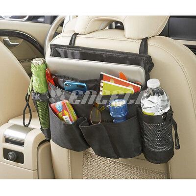 Popular  Waterproof Dacron Black Car Seat Back Organiser Storage Carriage Bag