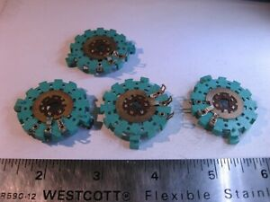 Wafer-Plastic-Rotary-Switch-1-Pole-2-Position-Non-Short-NOS-Qty-4