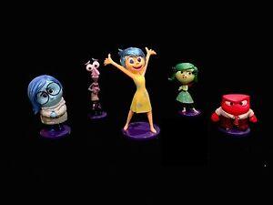 Disney-039-s-Inside-Out-5-Piece-Figurine-Set-Joy-Anger-Disgust-Sadness-Fear