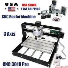 Cnc 3018 Pro Diy Mini Router Engraving Machine 3 Axis Milling Machine Wood Pcb