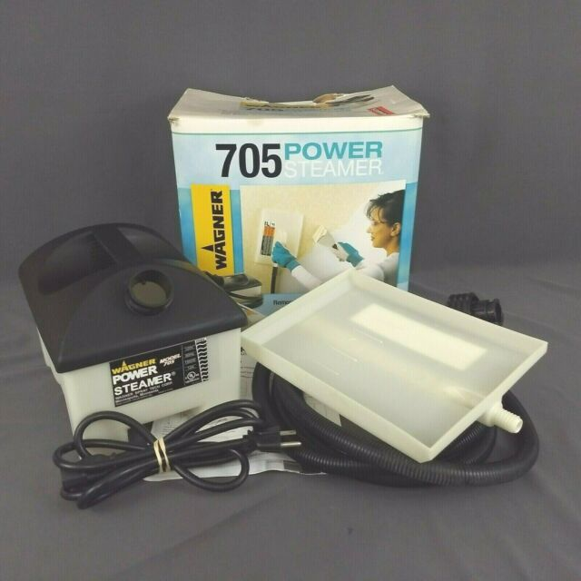 Wagner 705 Power Steamer Wallpaper Removal Complete with Manual