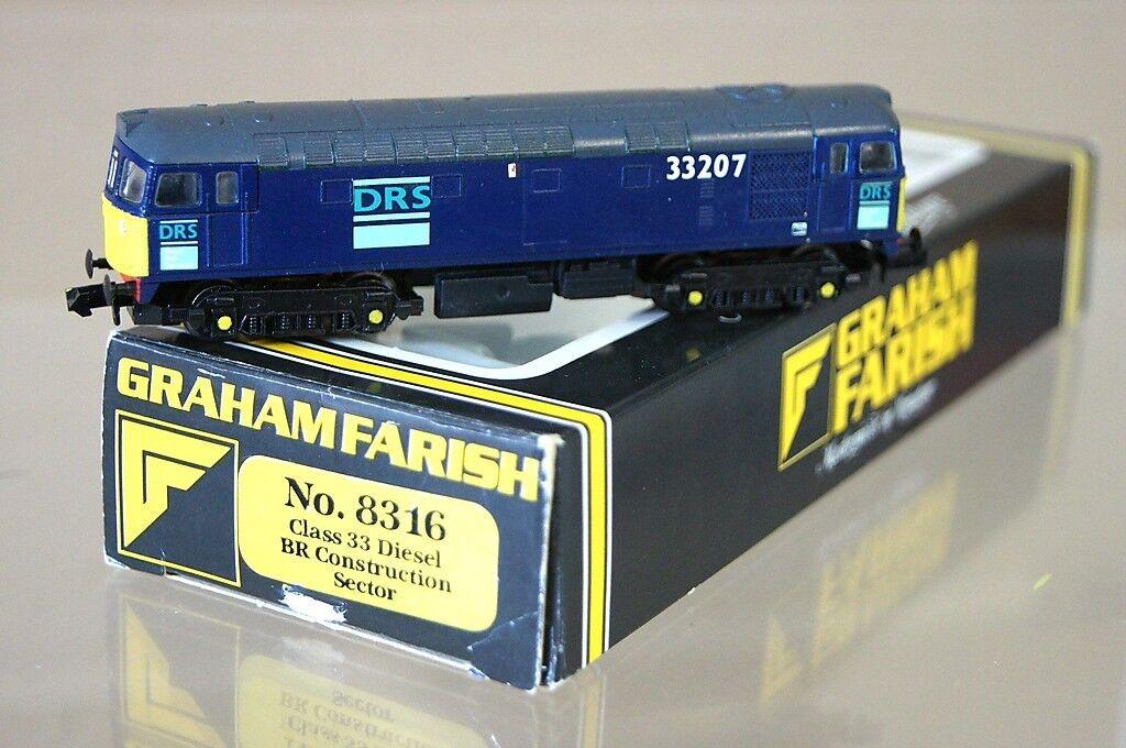 Graham Farish 8316 Cjm Set Gebaut Nachgearbeiteter Drs Klasse 33 Diesel