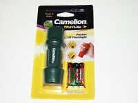 Camelion Hp7011 Travlite 40 Lumens Pocket Led Flashlight Torch ( Green )