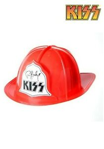 NEW-KISS-Firehouse-Fire-Hat-Helmet-Paul-Stanley-END-OF-ROAD-FREE-U-S-SHIPPING