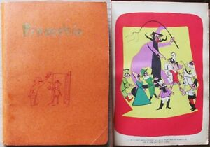 COLLODI - PINOCCHIO_Ed. Curcio, 1955* - ill. GIOBBE - Leggi bene - Italia - COLLODI - PINOCCHIO_Ed. Curcio, 1955* - ill. GIOBBE - Leggi bene - Italia