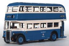16129 EFE Blue Leyland Titan PD2 Highbridge Double Deck Bus Ashton 1:76 Diecast