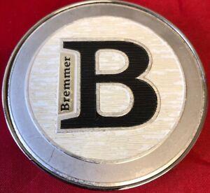 ONE-USED-BREMMER-WHEEL-ALLOYS-BR-K68T-CHROME-BLACK-CENTER-CAP-AFTERMARKET-4039