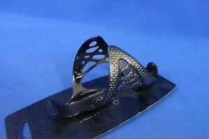 New Supacaz Spider Carbon Fiber Water Bottle Cage Gold/Black 20g Fly