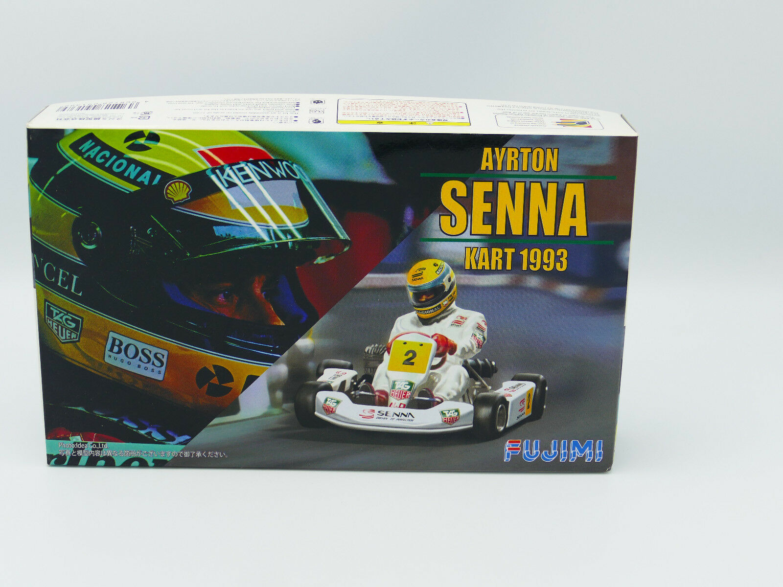 Fujimi KART Ayrton Senna Kart 1993 1 20 scale kit-Lot of 4