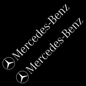 Mercedes-Benz-type-C-8-034-10-034-12-034-STICKER-VINYL-DECAL-VEHICLE-CAR-WALL-1-SET-OF-2
