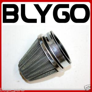 54mm-Steel-Chrome-Pod-Air-Filter-Cleaner-PIT-Trail-Quad-Dirt-Bike-ATV-Dune-Buggy