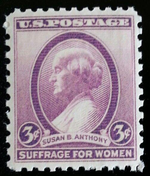 1936 3c Susan B. Anthony, Women's Rights Activist Scott