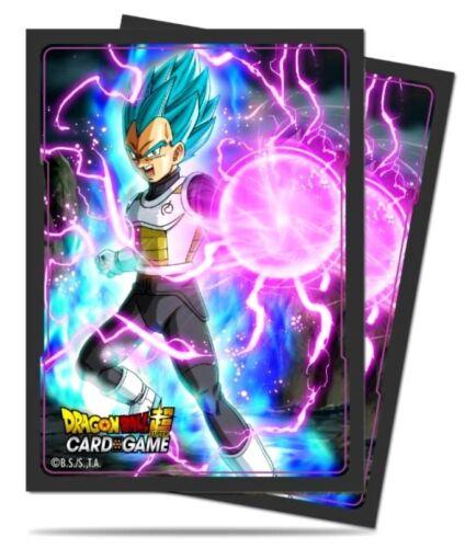 Ultra Pro Dragon Ball Super God Charge Vegeta Standard Card Sleeves [65 Count]