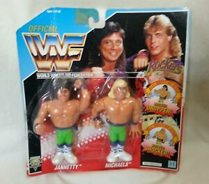 WWF-Wrestler-Tag-Team-The-Rockers-Series-2-Hasbro-Unopened-Figure-1991-WWF-WWE