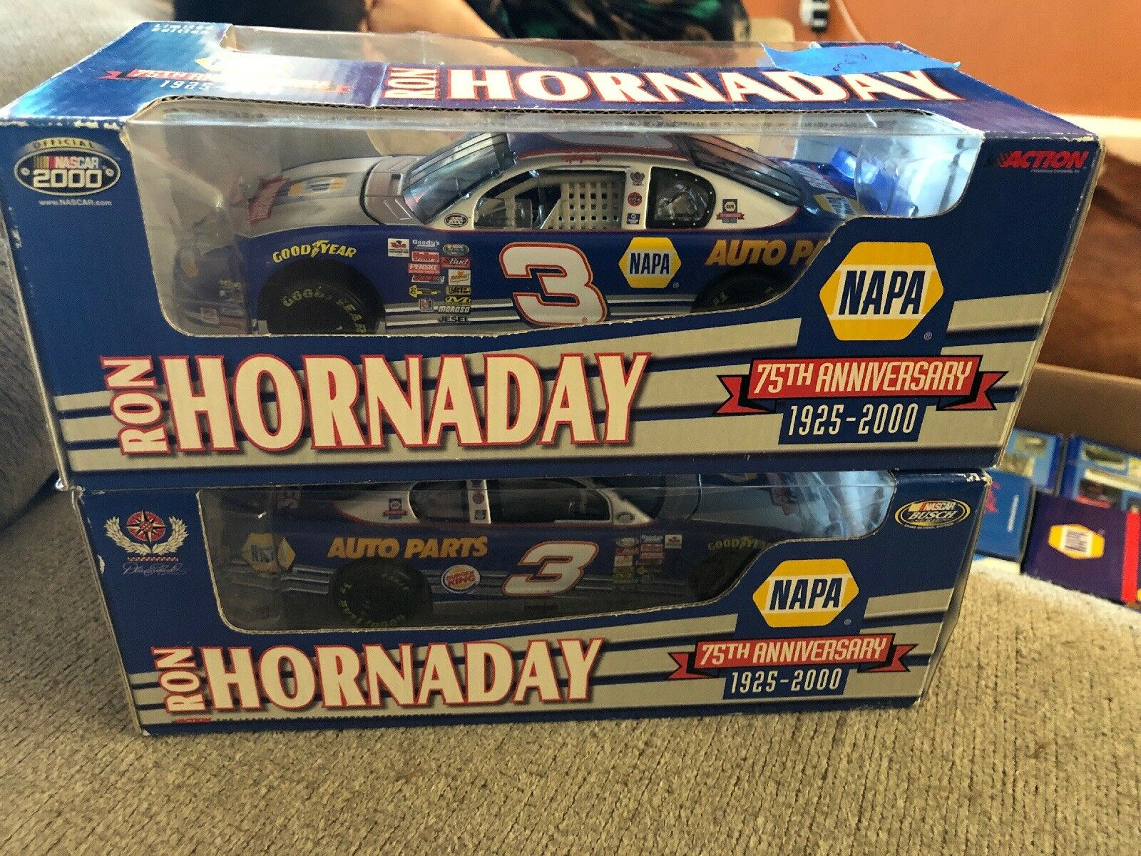 Ron Hornaday NAPA 75th Anniversary ROOKIE 2000 NASCAR 1 24 DieCast
