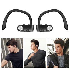 c0063038c95 Awei T2 IPX4 Waterproof TWS Bluetooth 4.2 In-ear Sport Earphone ...